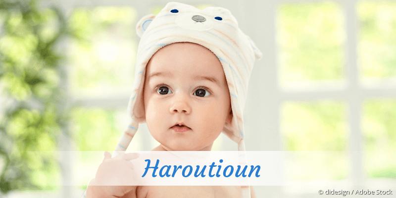 Name Haroutioun als Bild