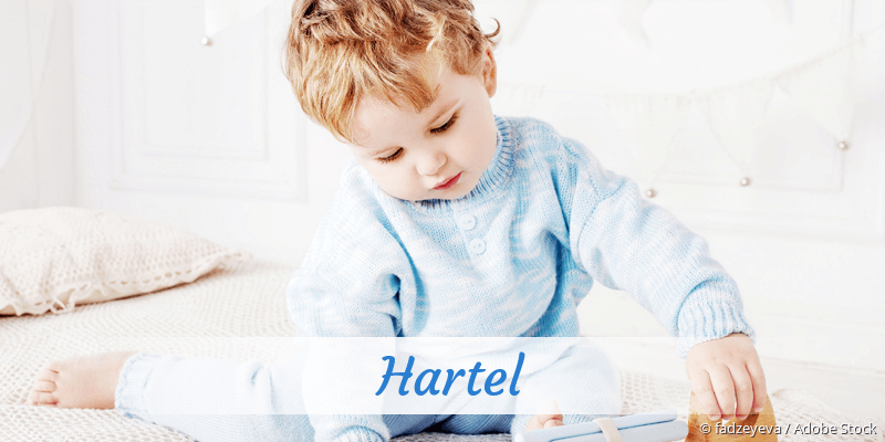 Name Hartel als Bild