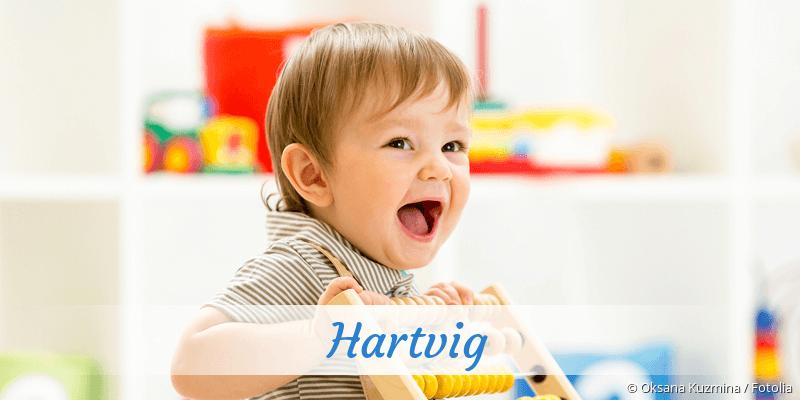 Name Hartvig als Bild
