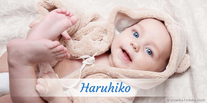 Name Haruhiko als Bild