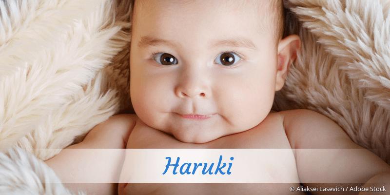 Name Haruki als Bild