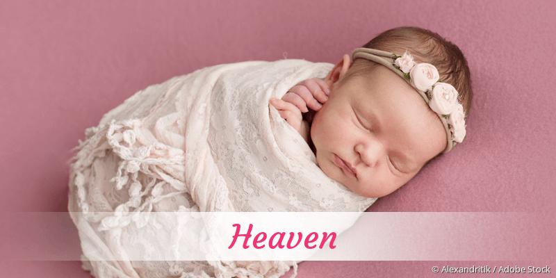 Name Heaven als Bild