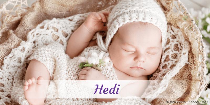 Name Hedi als Bild