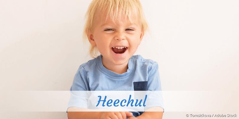Name Heechul als Bild
