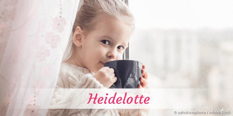 Name Heidelotte als Bild