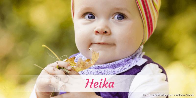 Name Heika als Bild