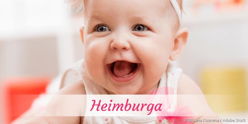 Name Heimburga als Bild