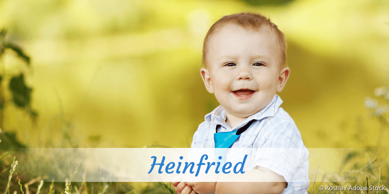 Name Heinfried als Bild