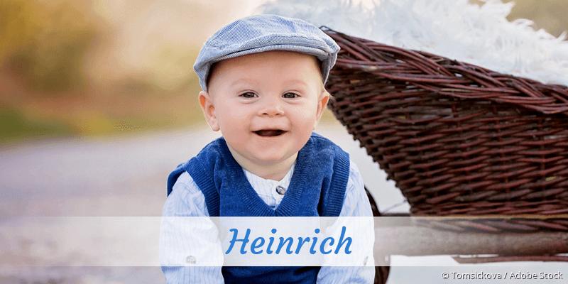 Name Heinrich als Bild