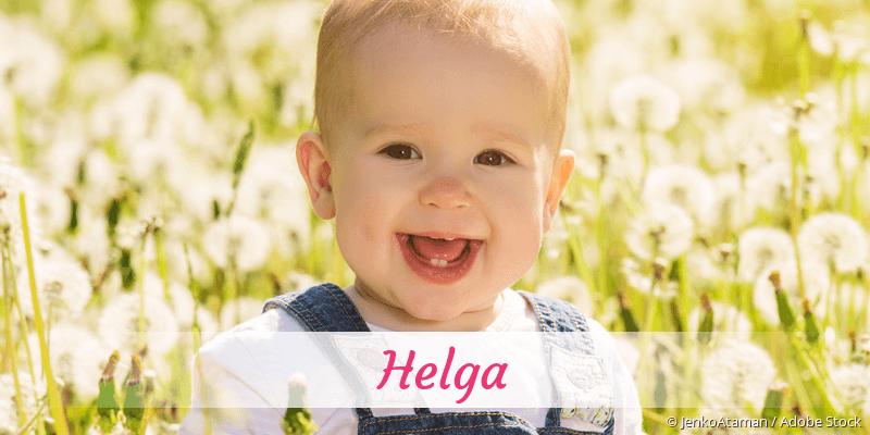 Name Helga als Bild