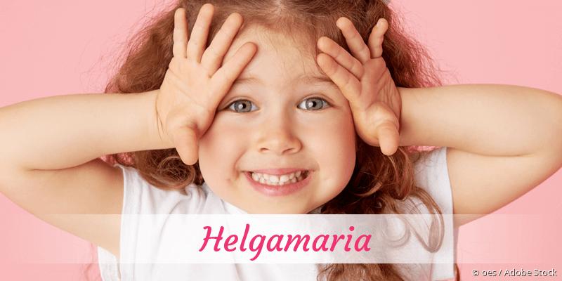 Name Helgamaria als Bild