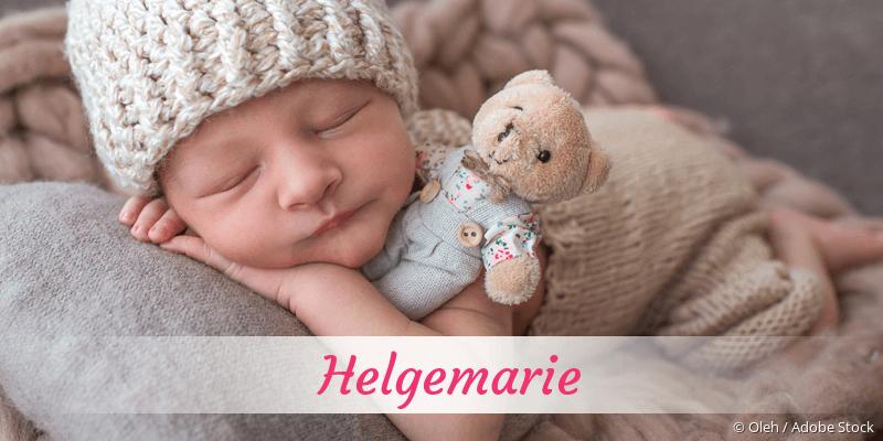 Name Helgemarie als Bild
