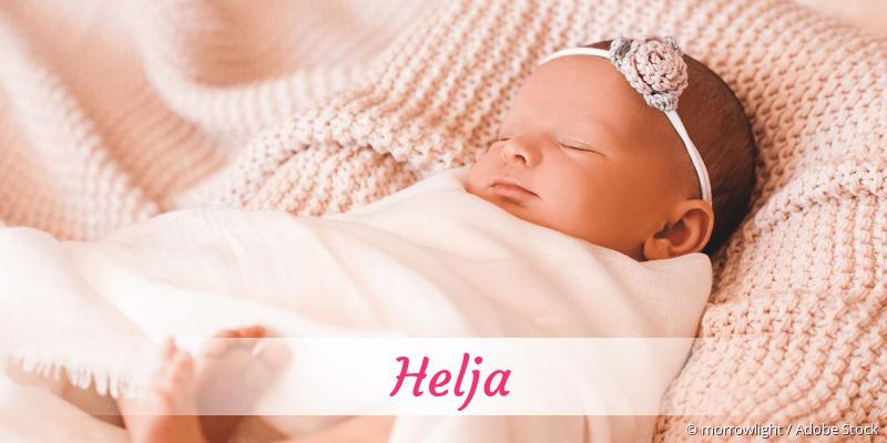Name Helja als Bild