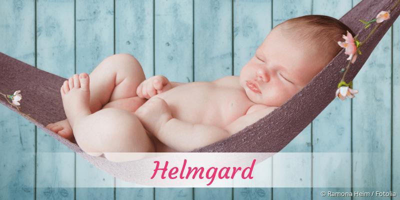 Name Helmgard als Bild