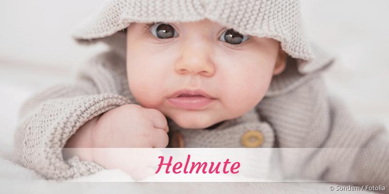 Name Helmute als Bild