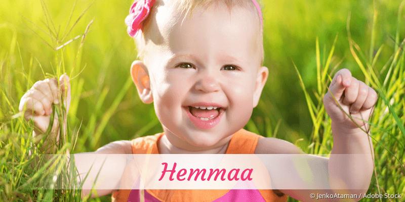 Name Hemmaa als Bild