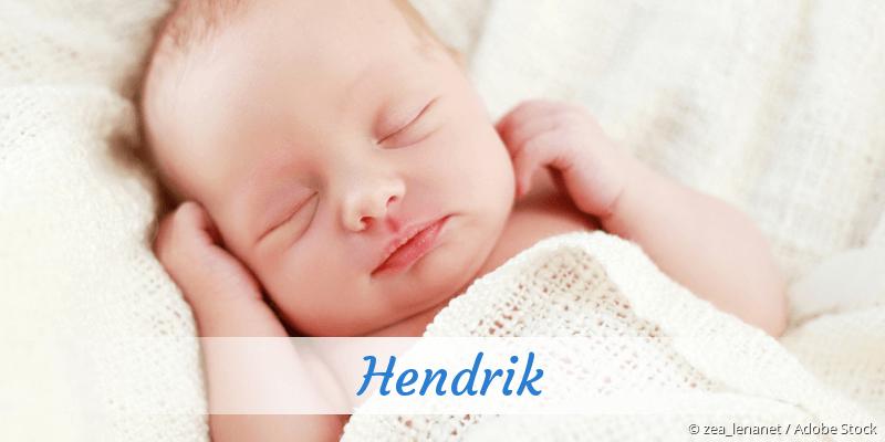 Name Hendrik als Bild