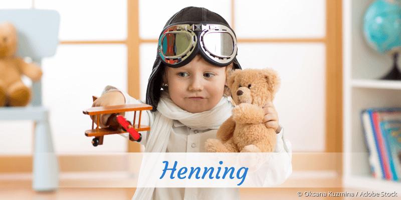 Name Henning als Bild