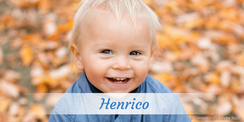 Name Henrico als Bild
