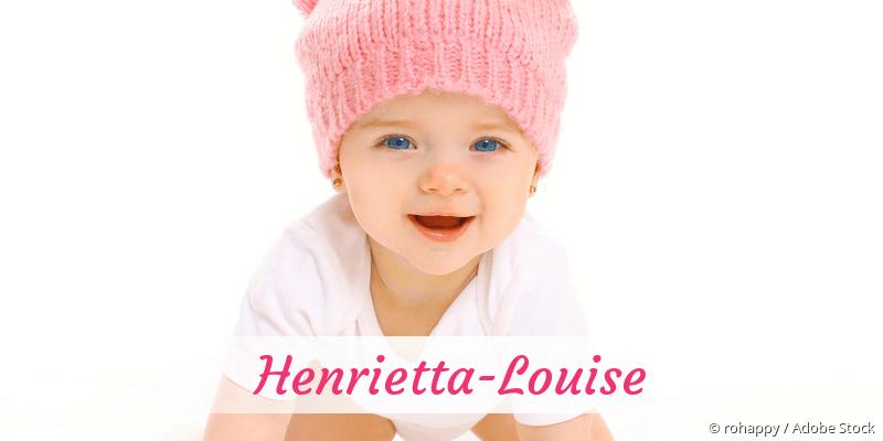 Name Henrietta-Louise als Bild