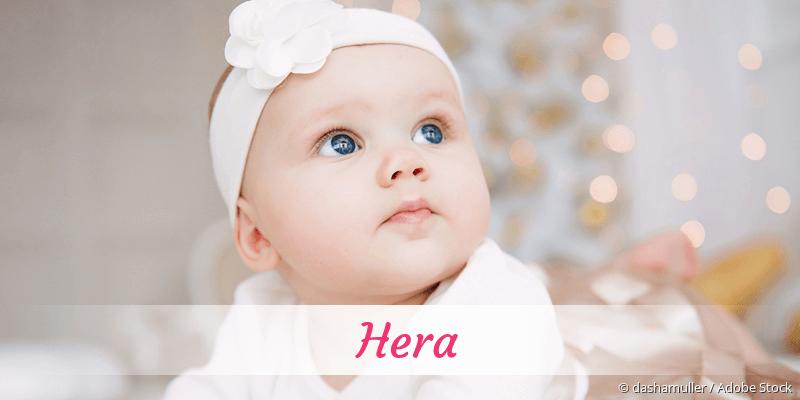 Name Hera als Bild