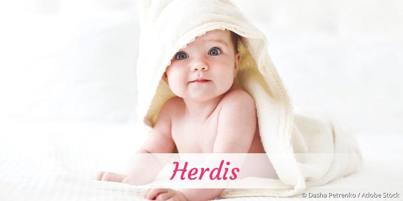Name Herdis als Bild