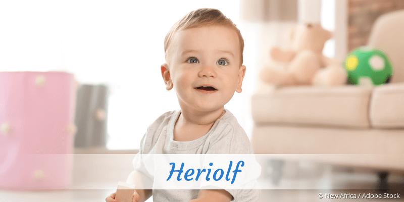 Name Heriolf als Bild