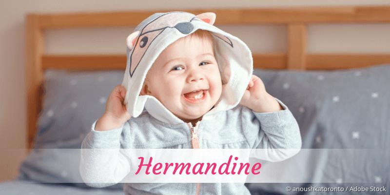Name Hermandine als Bild