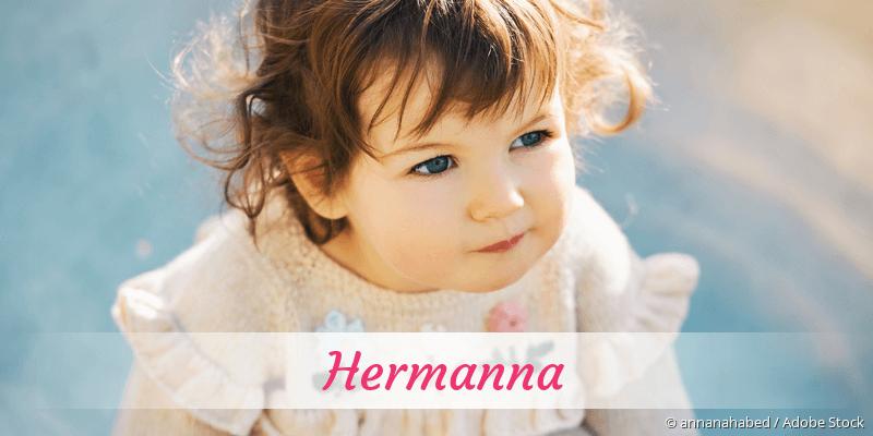Name Hermanna als Bild