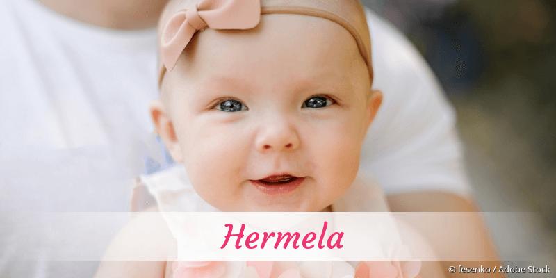 Name Hermela als Bild