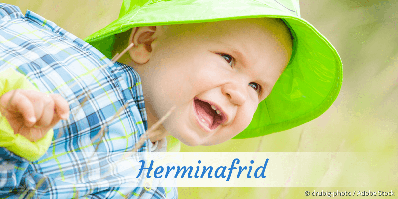 Name Herminafrid als Bild