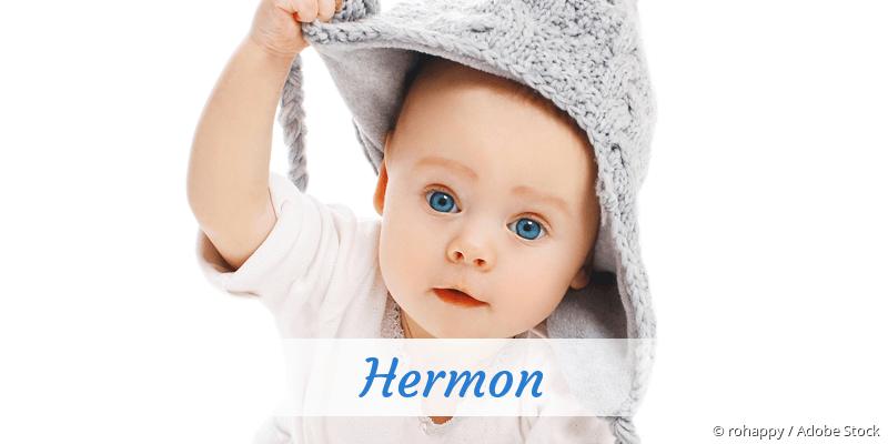Name Hermon als Bild