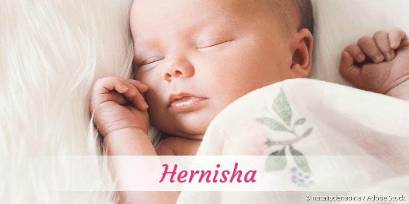 Name Hernisha als Bild