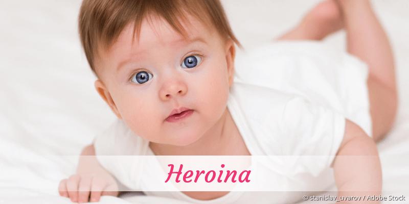Name Heroina als Bild