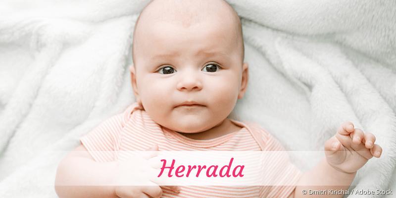 Name Herrada als Bild