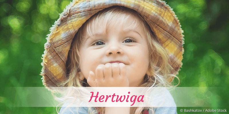 Name Hertwiga als Bild