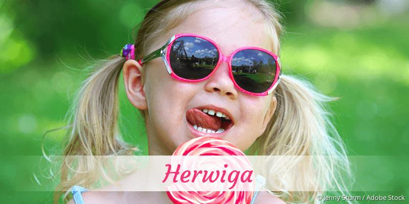 Name Herwiga als Bild