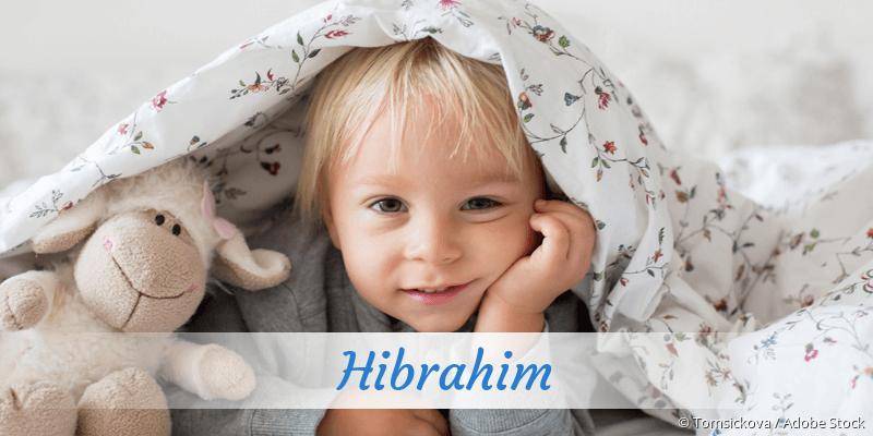 Name Hibrahim als Bild