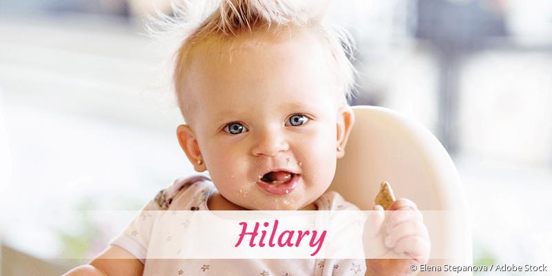 Name Hilary als Bild