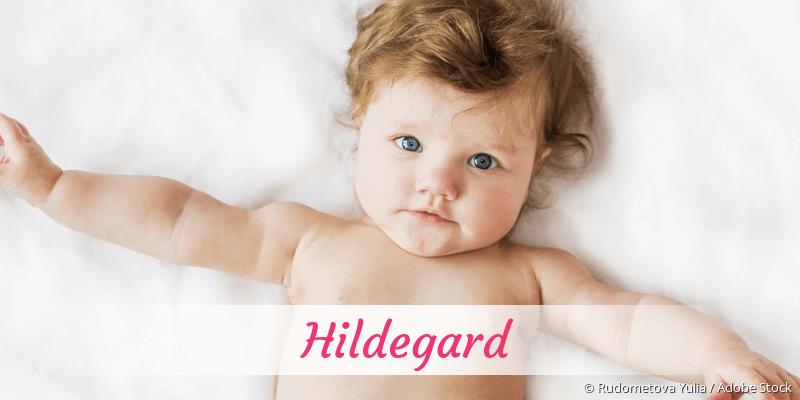 Name Hildegard als Bild