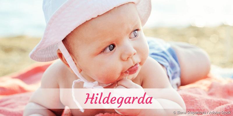 Name Hildegarda als Bild