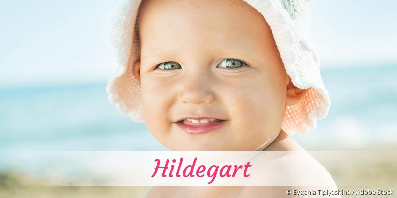 Name Hildegart als Bild