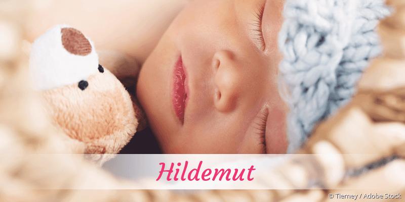 Name Hildemut als Bild