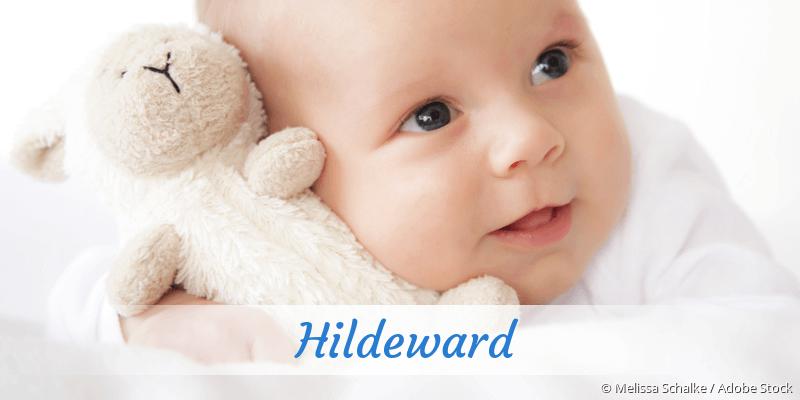 Name Hildeward als Bild