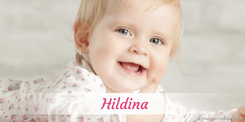 Name Hildina als Bild