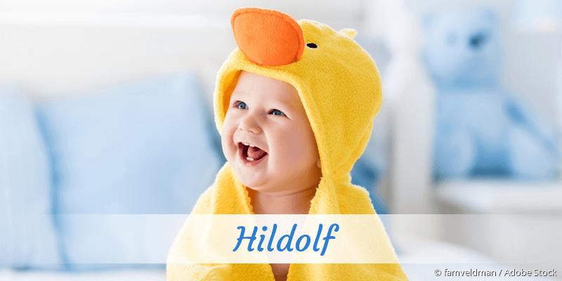 Name Hildolf als Bild