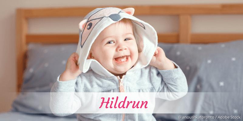 Name Hildrun als Bild