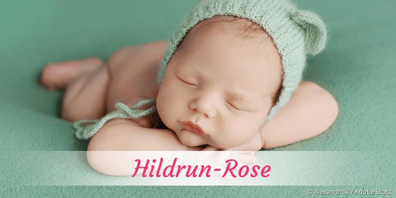 Name Hildrun-Rose als Bild