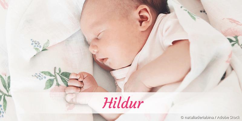 Name Hildur als Bild
