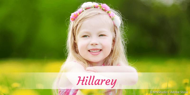 Name Hillarey als Bild